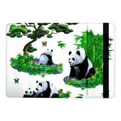 Cute Panda Cartoon Samsung Galaxy Tab Pro 10.1  Flip Case