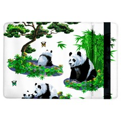 Cute Panda Cartoon iPad Air Flip