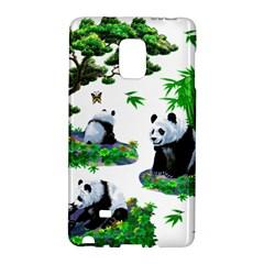 Cute Panda Cartoon Galaxy Note Edge