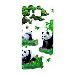 Cute Panda Cartoon Samsung Galaxy Alpha Hardshell Back Case