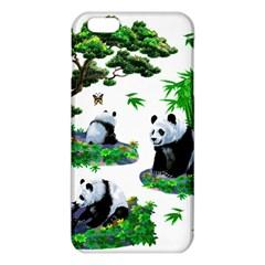 Cute Panda Cartoon iPhone 6 Plus/6S Plus TPU Case