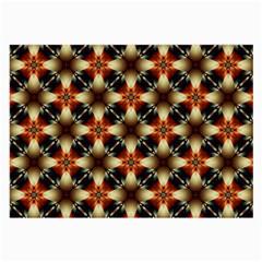 Kaleidoscope Image Background Large Glasses Cloth (2 Side)