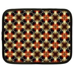 Kaleidoscope Image Background Netbook Case (xxl)