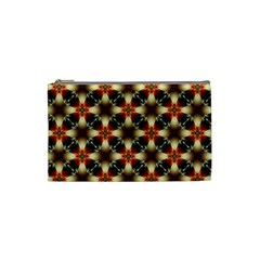 Kaleidoscope Image Background Cosmetic Bag (small)