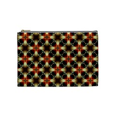 Kaleidoscope Image Background Cosmetic Bag (Medium)