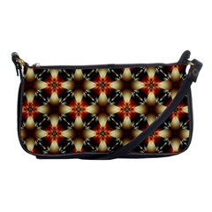 Kaleidoscope Image Background Shoulder Clutch Bags