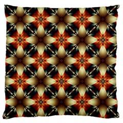 Kaleidoscope Image Background Large Cushion Case (Two Sides)