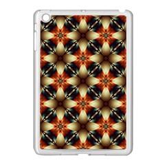Kaleidoscope Image Background Apple iPad Mini Case (White)
