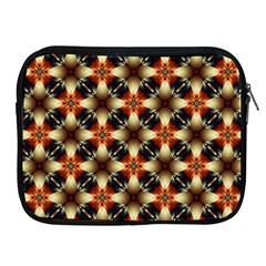 Kaleidoscope Image Background Apple iPad 2/3/4 Zipper Cases