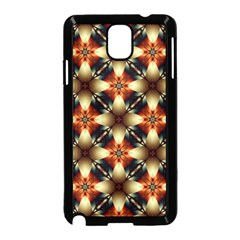 Kaleidoscope Image Background Samsung Galaxy Note 3 Neo Hardshell Case (Black)