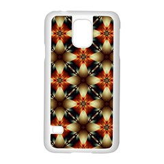 Kaleidoscope Image Background Samsung Galaxy S5 Case (White)