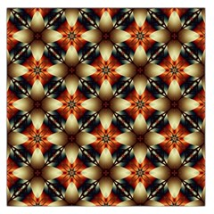 Kaleidoscope Image Background Large Satin Scarf (Square)
