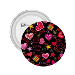 Love Hearts Sweet Vector 2.25  Buttons
