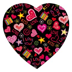 Love Hearts Sweet Vector Jigsaw Puzzle (heart)