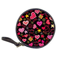 Love Hearts Sweet Vector Classic 20-CD Wallets
