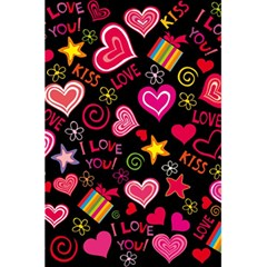 Love Hearts Sweet Vector 5 5  X 8 5  Notebooks