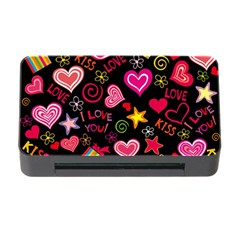 Love Hearts Sweet Vector Memory Card Reader with CF