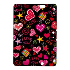 Love Hearts Sweet Vector Kindle Fire HDX 8.9  Hardshell Case