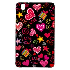 Love Hearts Sweet Vector Samsung Galaxy Tab Pro 8.4 Hardshell Case