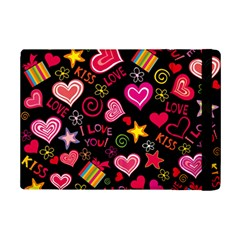 Love Hearts Sweet Vector iPad Mini 2 Flip Cases