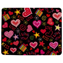Love Hearts Sweet Vector Jigsaw Puzzle Photo Stand (Rectangular)