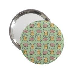 Cute Hamster Pattern 2 25  Handbag Mirrors