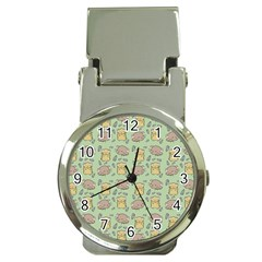 Cute Hamster Pattern Money Clip Watches
