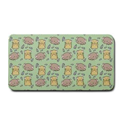 Cute Hamster Pattern Medium Bar Mats