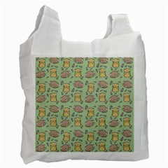 Cute Hamster Pattern Recycle Bag (two Side)