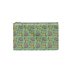 Cute Hamster Pattern Cosmetic Bag (Small)
