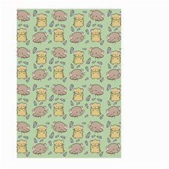 Cute Hamster Pattern Large Garden Flag (Two Sides)
