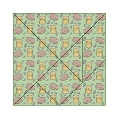 Cute Hamster Pattern Acrylic Tangram Puzzle (6  x 6 )