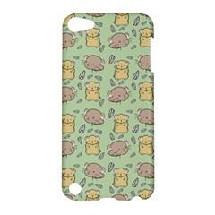 Cute Hamster Pattern Apple iPod Touch 5 Hardshell Case