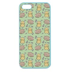 Cute Hamster Pattern Apple Seamless iPhone 5 Case (Color)
