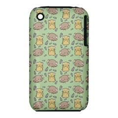 Cute Hamster Pattern iPhone 3S/3GS