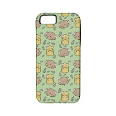 Cute Hamster Pattern Apple iPhone 5 Classic Hardshell Case (PC+Silicone)