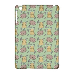 Cute Hamster Pattern Apple Ipad Mini Hardshell Case (compatible With Smart Cover)