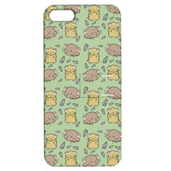 Cute Hamster Pattern Apple iPhone 5 Hardshell Case with Stand