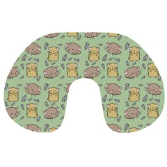 Cute Hamster Pattern Travel Neck Pillows