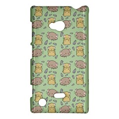 Cute Hamster Pattern Nokia Lumia 720