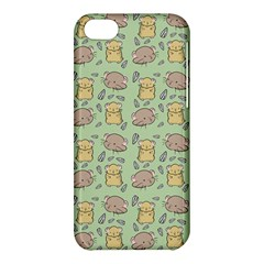 Cute Hamster Pattern Apple iPhone 5C Hardshell Case