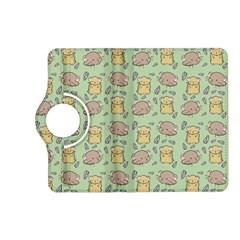 Cute Hamster Pattern Kindle Fire HD (2013) Flip 360 Case