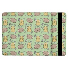 Cute Hamster Pattern iPad Air Flip