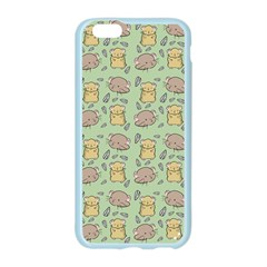 Cute Hamster Pattern Apple Seamless iPhone 6/6S Case (Color)