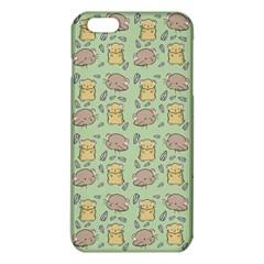Cute Hamster Pattern iPhone 6 Plus/6S Plus TPU Case