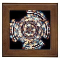 Science Fiction Background Fantasy Framed Tiles