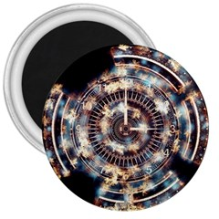 Science Fiction Background Fantasy 3  Magnets