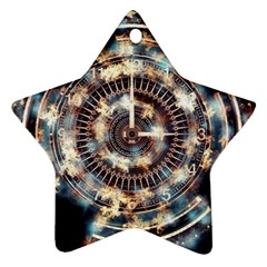 Science Fiction Background Fantasy Ornament (star)