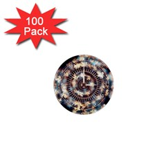 Science Fiction Background Fantasy 1  Mini Buttons (100 Pack)