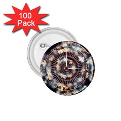 Science Fiction Background Fantasy 1.75  Buttons (100 pack)